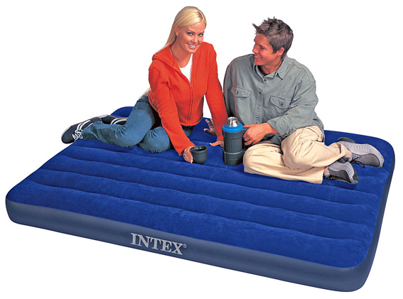 New Inflatable Double 88010 Camping Flocked Air Bed Airbed Mattress Bed Mattress Sale